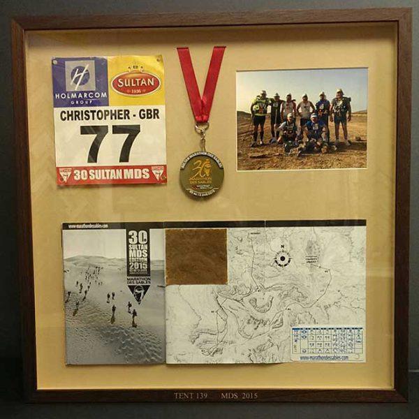 Marathon-de-Sable-memorabilia
