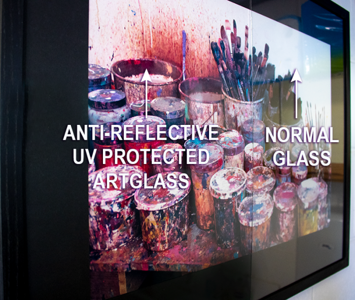 Anti Reflective Art Glass