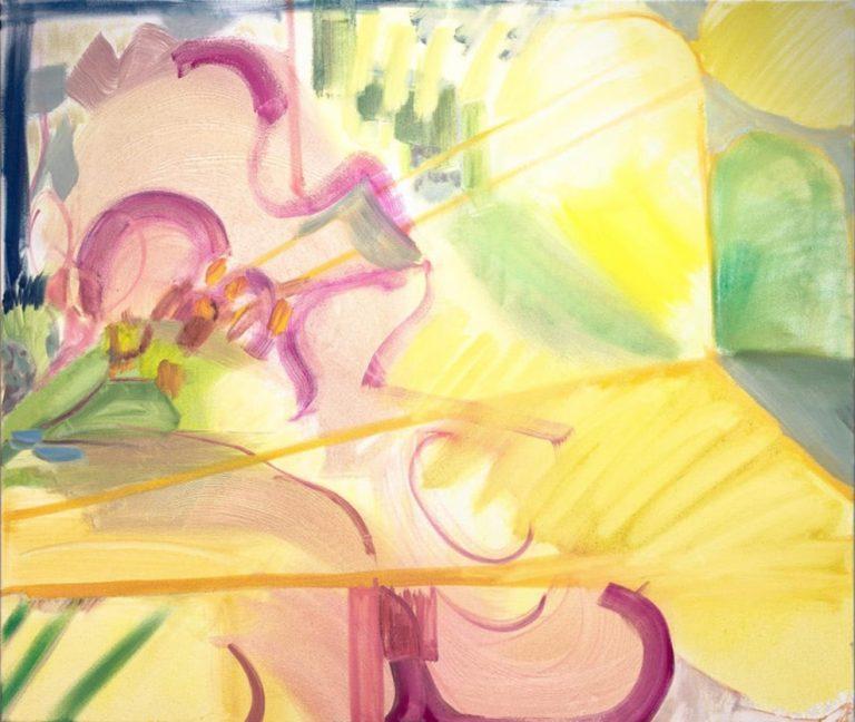 Arthur's Orchard, 2020 Oil on canvas 88 x 104 cm